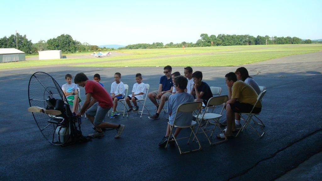 camp 2014 para glider